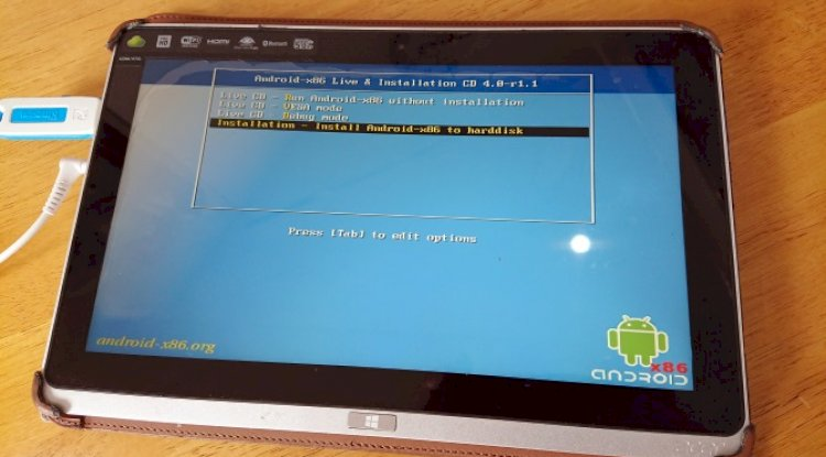 Android Tablet Kurulumu