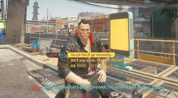 Cyberpunk 2077 kontrolleri değişiyor