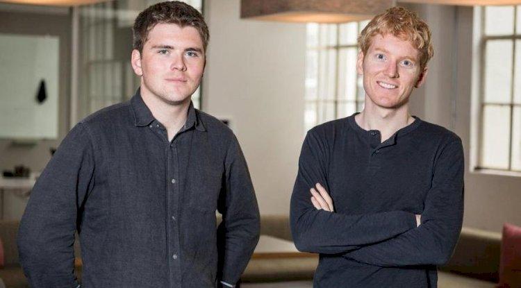 John ve Patrick Collison - Her biri 3,2 Milyar Dolar |  Dünyadaki En Genç 8 Milyarder 2020