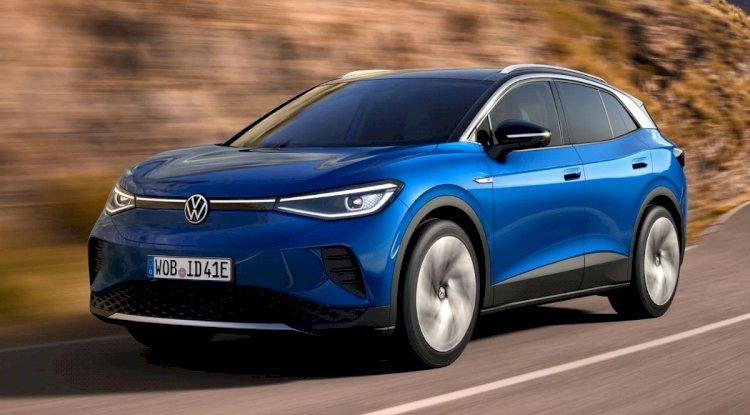 Volkswagen ID.4   2021'de ve Sonrasında Gelen En İyi 20 Yeni Elektrikli Otomobil ve SUV