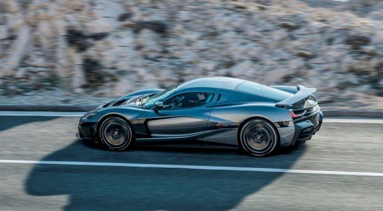 Rimac C_Two   2021'de ve Sonrasında Gelen En İyi 20 Yeni Elektrikli Otomobil ve SUV