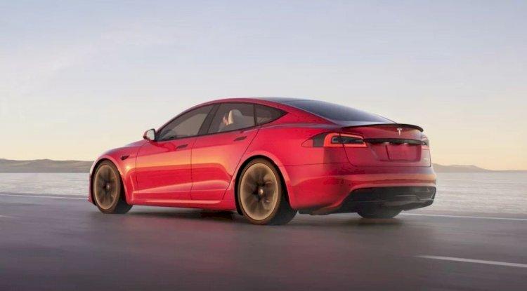 Tesla Model S Plaid Plus   2021'de ve Sonrasında Gelen En İyi 20 Yeni Elektrikli Otomobil ve SUV