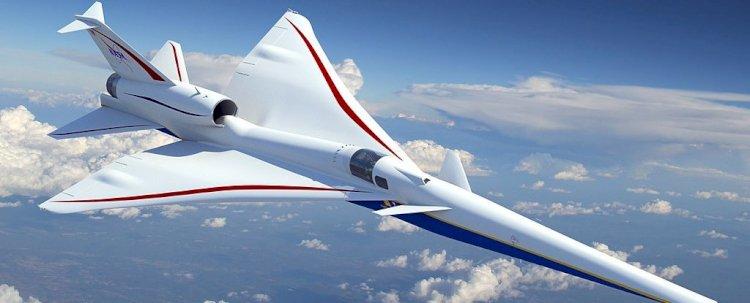 NASA'nın Yeni Süpersonik Jeti