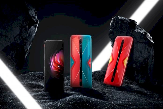 144Hz Ekran Yenileme Hızı ile nubia Red Magic 5G Oyun Telefonu