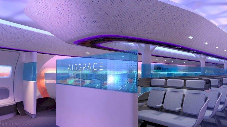 Yeni Airbus Blended-Wing Uçak Konsepti Fütüristik Flyer