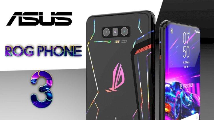 Snapdragon 865 SoC ile Asus ROG Phone 3, Temmuz ayında piyasaya sürülecek