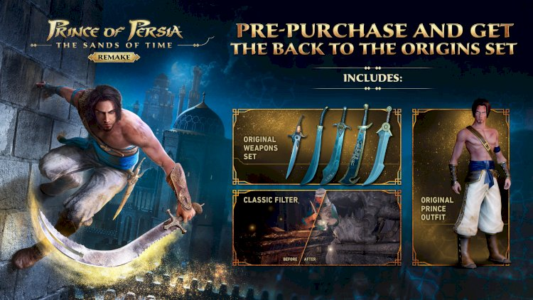 Prince Of Persia Sands Of Time Remake: Çıkış Tarihi, Platformlar ve Sistem Gereksinimleri