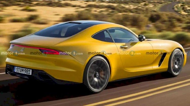 Mercedes AMG GT'nin Render Görüntüleri Ortaya Çıktı