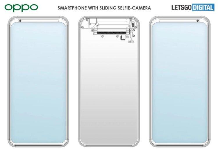 OPPO, hareketli Selfie Kameralı Akıllı Telefon tasarımının patentini aldı