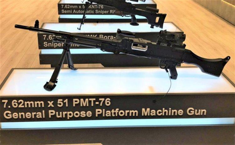 Yerli makineli tüfek PMT 7.62