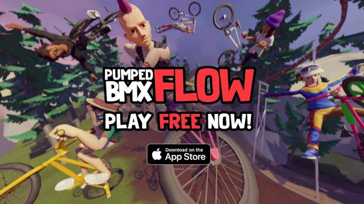Pumped BMX Flow, iOS için ücretsiz olarak yayınlandı
